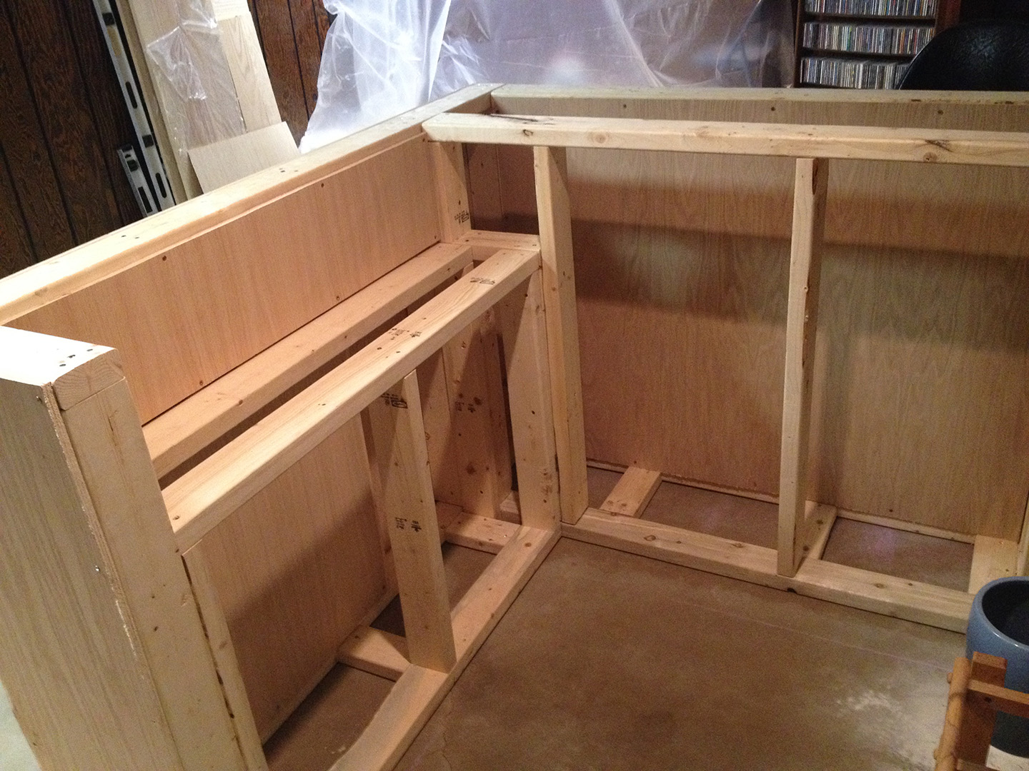 DIY – How To Build Your Own Oak Home Bar ~ John Everson