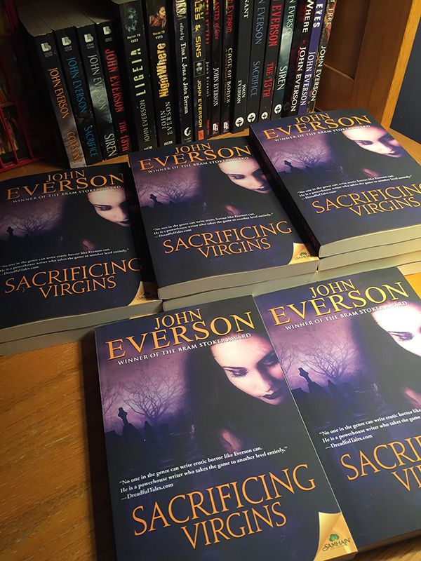 Here's the stack of copies that appeared on my desk this past week!