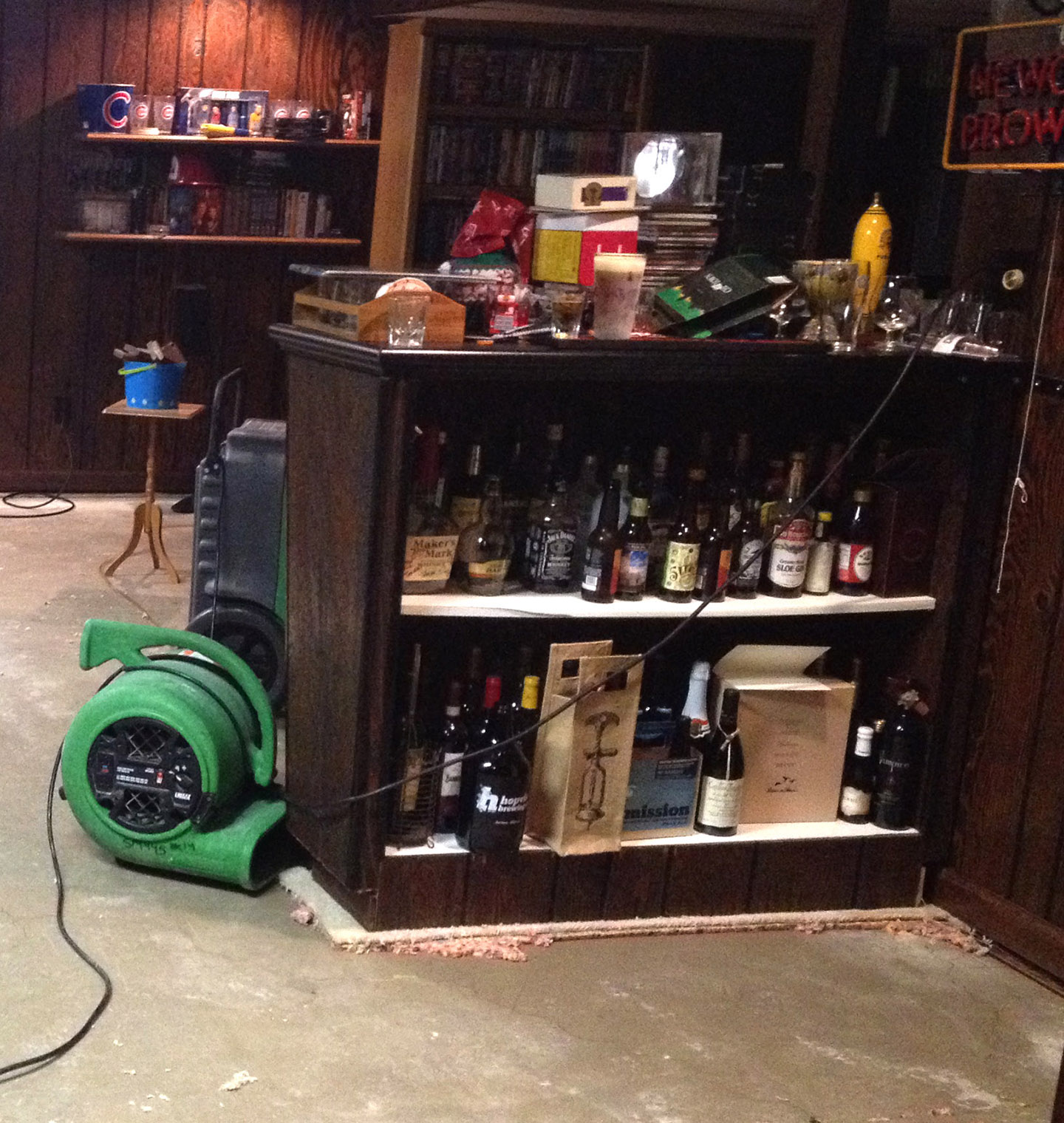 A Few Months Ago, My Basement Got Water Damage Thanks To A Faulty Sump Pump  And All The Carpet Was Removed. Before Getting New Carpet, I Decided That  While ...